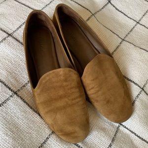 Vince Brown Suede Loafer Flats 7.5